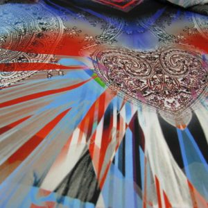 paneelstof polyester Gossypium