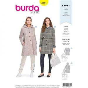 Burdapatroon 6361 jas