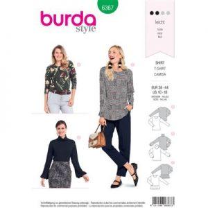Burdapatroon 6367 shirt
