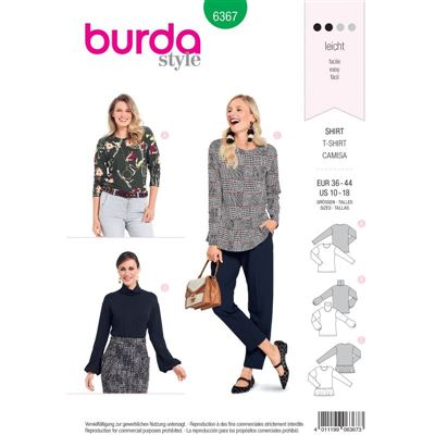 Burdapatroon 6367 shirt