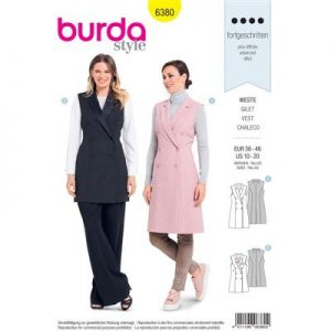 Burdapatroon 6380 gilet