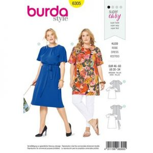 Burdapatroon 6305 shirt en jurk