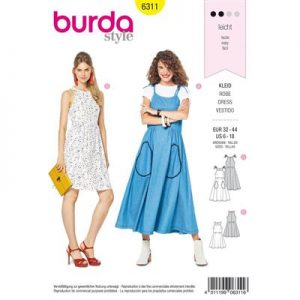 Burdapatroon 6311 jurk