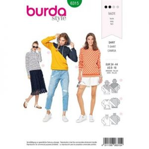 Burdapatroon 6315 shirt
