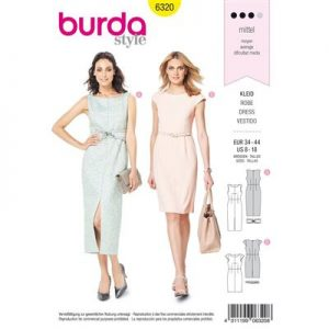 Burdapatroon 6320 jurk
