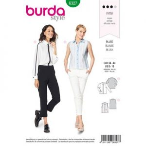 Burdapatroon 6327 blouse