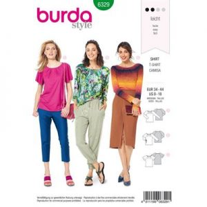 Burdapatroon 6329 shirt