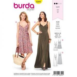 Burdapatroon 6344 jurk