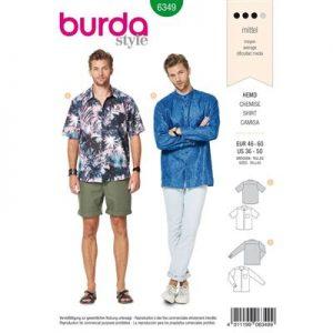 Burdapatroon 6349 overhemd