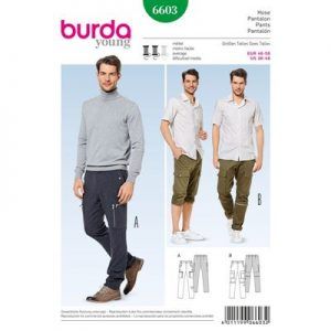 Burdapatroon 6603 pantalon