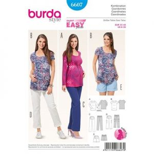 Burdapatroon 6607 combinatie