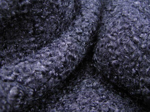 donkerblauwe polyester Division Textil