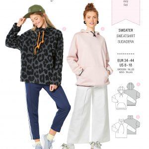 Burdapatroon 6253 sweatshirt