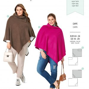 Burdapatroon 6256 cape