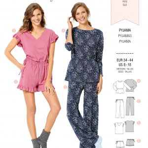 Burdapatroon 6261 pyjama