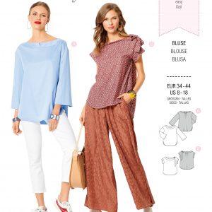 Burdapatroon 6270 blouse