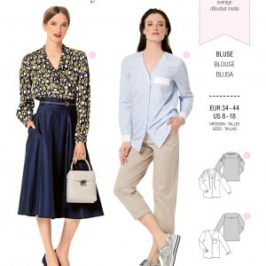 Burdapatroon 6274 blouse