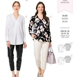 Burdapatroon 6278 blouse