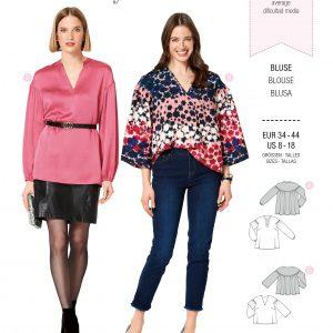 Burdapatroon 6284 blouse