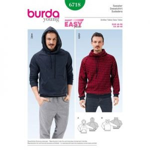 Burdapatroon 6718 sweater