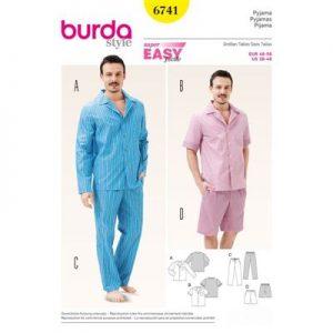 Burdapatroon 6741 pyjama