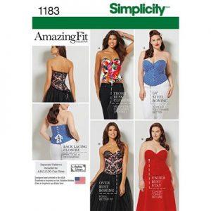 Simplicity patroon 1183 BB top