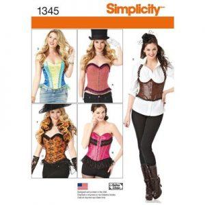 Simplicity patroon 1345R5 top