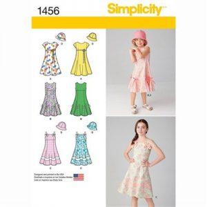 Simplicity patroon 1456HH jurk en hoed