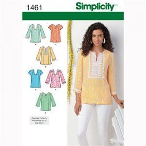 Simplicity patroon 1461 blouse