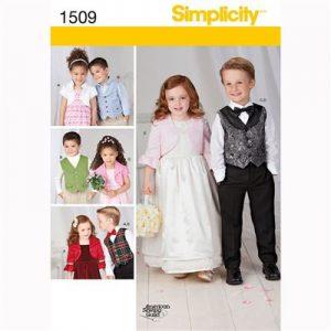 Simplicity patroon 1509 jasje en gilet
