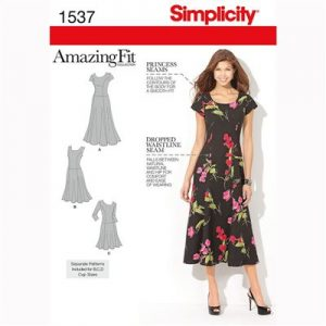 Simplicity patroon 1537 jurk
