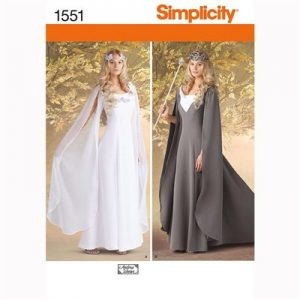 Simplicity patroon 1551 engelenjurk