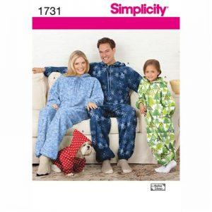 Simplicity patroon 1731 onesie
