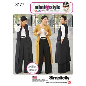 Simplicity patroon 8177 combinatie
