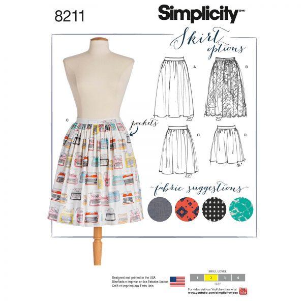 Simplicity patroon 8211 rok