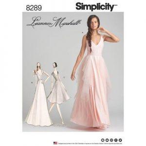 Simplicity patroon 8289 jurk