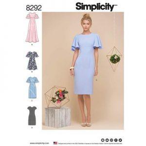 Simplicity patroon 8292 jurk