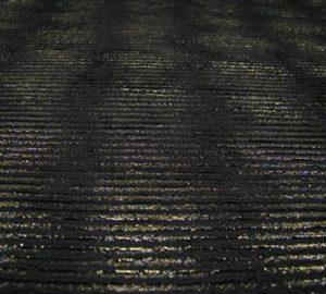 polyester zwart/goud Editex
