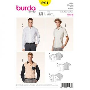 Burda patroon 6931 overhemd