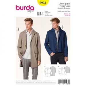 Burda patroon 6932 mantel en jack