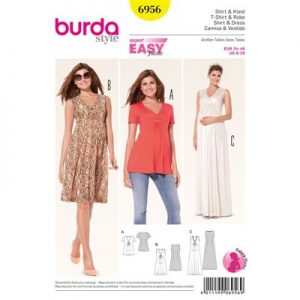 Burda patroon 6956 jurk