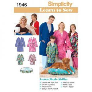 Simplicity patroon 1946 badjas