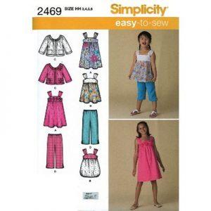 Simplicity patroon 2469 combinatie