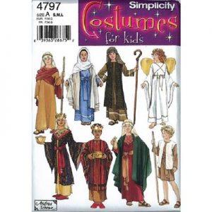 Simplicity patroon 4797 historisch kostuum