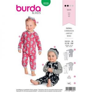 Burda patroon 9328 jumpsuit