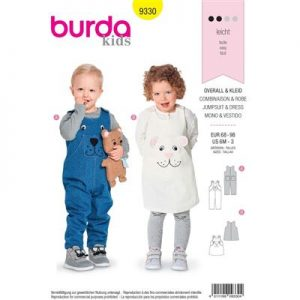Burda patroon 9330 jurk en jumpsuit