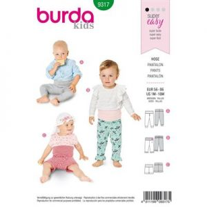 Burda patroon 9317 pantalon