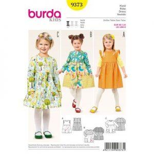 Burda patroon 9373 jurk