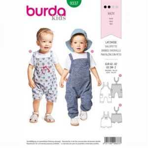 Burda patroon 9337 overall