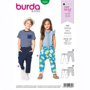 Burda patroon 9342 pantalon
